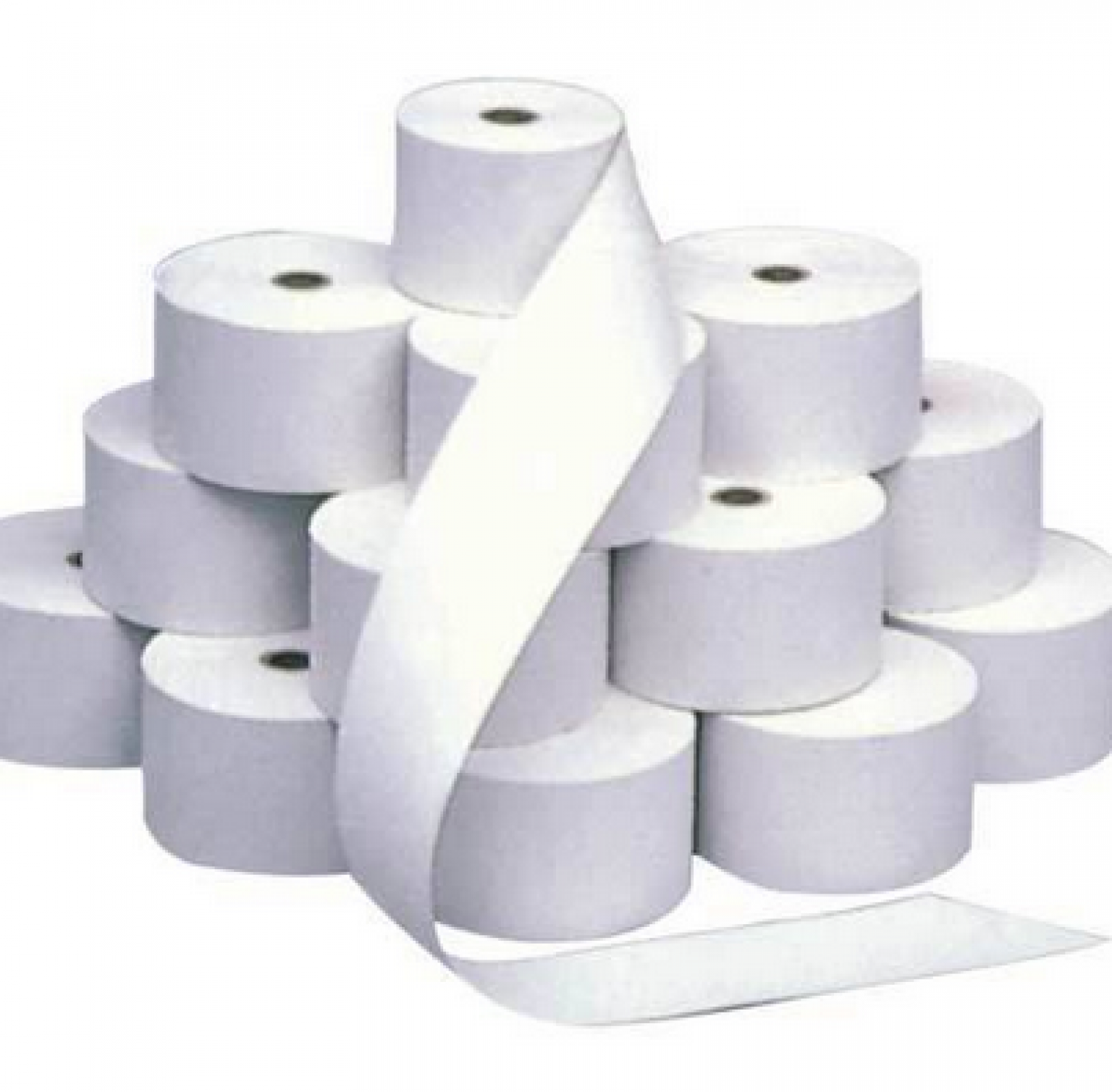 Paper and Poly Thermal Rolls