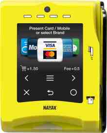 VPOS Touch - Nayax Credit Card